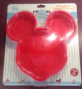 Silicone Mickey Mouse Cake Pan Disney