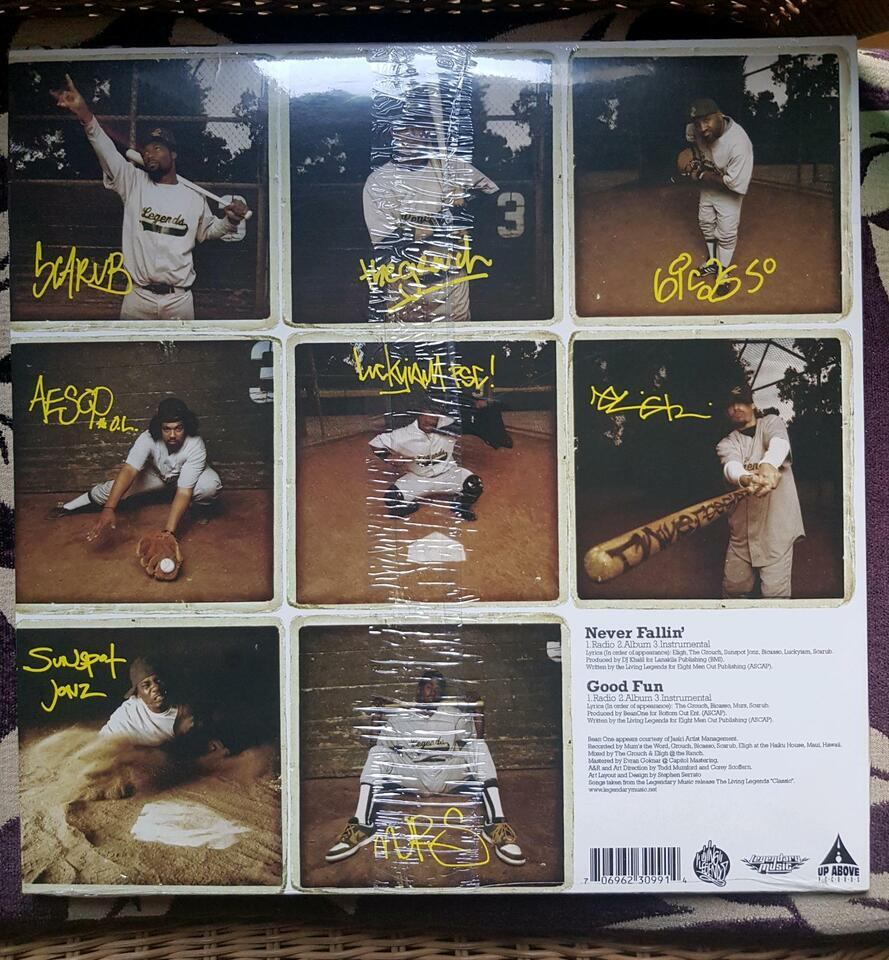 """LIVING LEGENDS """"never fallin' """" 12"""" Vinyl HipHop in Witten"""