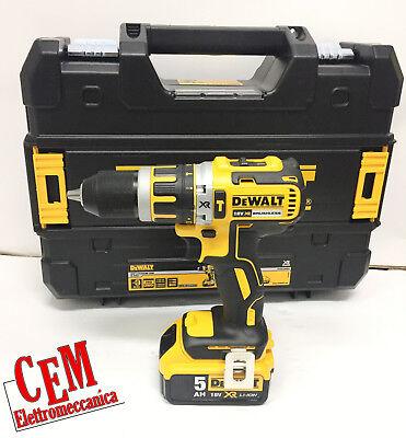 Schlagbohrer-Treiber DEWALT DCD795P2-QW 18V xr Lithium 2 Batterie