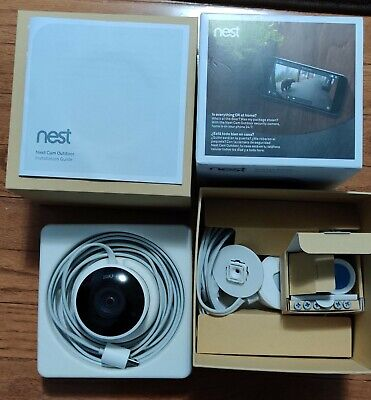 Google Nest Cam Outdoor Security Camera 1080p WIFI White NC2100ES