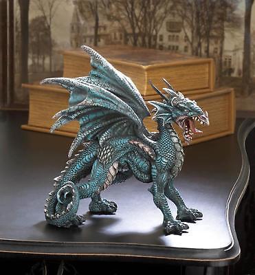 Fierce Dragon Statue Figurine - Myth Legend Mystical Decor