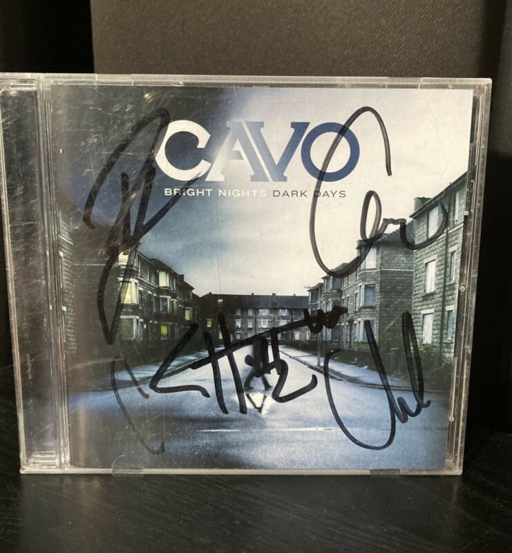 Cavo Band Signed Cd And Booklet