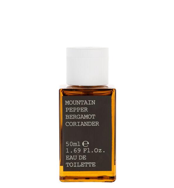 Korres Eau De Toilette,Fragrance Men,Mountain Pepper,Bergamot,Coriander,50ml