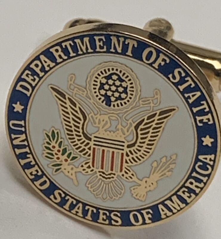 Department Of State Cufflinks