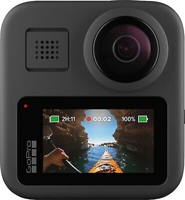 GoPro MAX Waterproof 360 Video 5.6K30 HD 16.6MP 360 Photos 1080p New