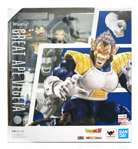 Bandai Tamashii Dragon Ball Z SH S.H.Figuarts Great Ape Vegeta Figure In Stock