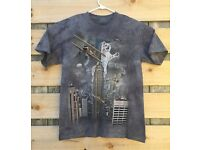 King Kong Empire State Building Cat S-5XL King Kitten T-Shirt by The Mountain