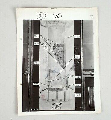 Vintage Original Print Allis-chalmers Photograph Industrial Occupational M