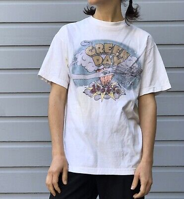 Green Day Dookie Album Cover Shirt Size Medium Graphic Tee