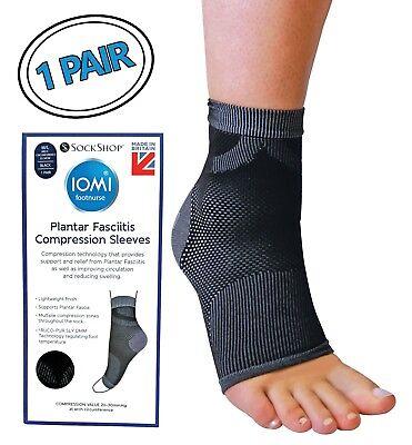 Tendinitis (IOMI Unisex Plantarfasziitis Socken Kompressionssocken für Achilles Tendinitis)