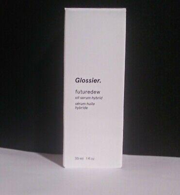 Glossier FutureDew Oil Serum 1oz New in Box Future Dew Full Size Made in USA.