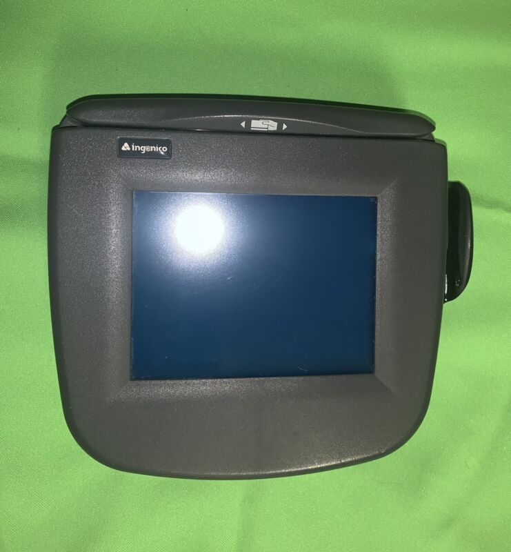 INGENICO eNTOUCH 1000 RETAIL POS TERMINAL CREDIT CARD SKIMMER READER PAD