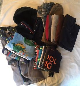 Lot of boys size 3 clothes & outerwear