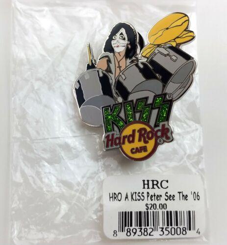 KISS Band Hard Rock Café Online Pin Badge Peter Criss Drums HRO 2006 LE 100