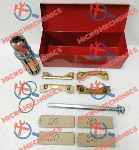 """METAL BOXED Cylinder Hone /Glaze Buster 1.3/8"""" to 2.1/4"""" + 16x Stones HEAVY DUTY"""
