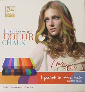 24 Coloured Hair Chalks Hornsby Hornsby Area Preview