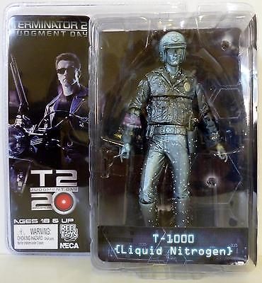 "Terminator Collection Series 3 T-1000 Liquid Nitrogen 7"" Action Figure - 0634482421826 Toys"