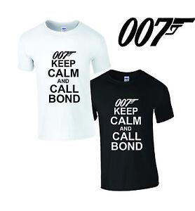 shirt james bond 007 skyfall film neuf afficher le titre d'origine