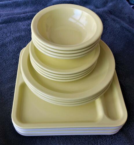 NICE Set! Vintage Lot of Texas Ware Plates, Trays, Bowls. Melamine