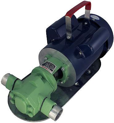 Power Wcb50 Mini-gear Oil Pump 13 Gpm 1 Wmo Wvo Biodiesel Motor Fuel Transfer