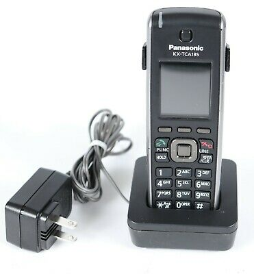 Panasonic Kx-tca185 Wireless Dect 6.0 Handset Phone With Charger And Adapter