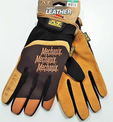 Mechanix Wear X Large Mens Fastfit Leather Work Gloves Brand New