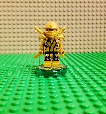 LEGO Dimensions Ninjago Lloyd Golden Ninja Lloyd Mini-Figure 71239 Tested Works