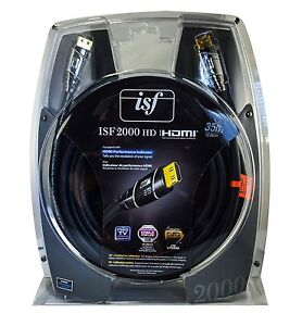 Monster Cable ISF 2000 HD Hyper Speed HDMI Cable 35 Ft - 21 Gbps - 4K Resolution