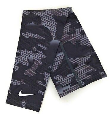 Nike Basketball Pro Hunt 2.0 Arm Sleeve Black White Anthracite S / M Dri Fit