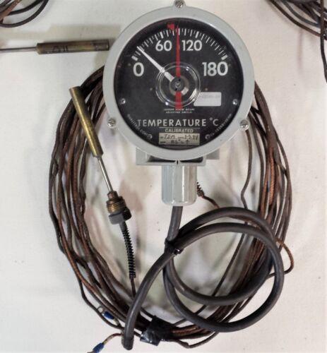 Qualitrol CS-12248-12 (118) McGraw-Edison DAL-093-9, 0-180C Temp Gauge 1-NO SPST