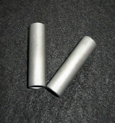 Lot Of Two - 2.0 Long Hexoloy Silicon Carbide Tube Wireless Element No. 62