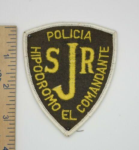 SJR POLICIA PATCH Original Vintage POLICE