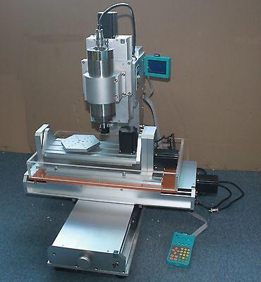 110v 1500w Cnc 3040 5 Axis Table Column Type Engraving Machine Marking Printer