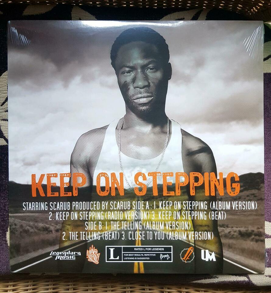 "SCARUB ""keep on stepping"" 12"" Vinyl Living Legends HipHop in Witten"