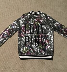 Special Edition Pink Sequins Jersey Coat