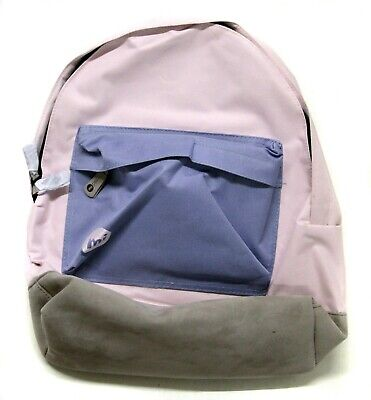 MI-PAC CLEAR BLOCK BACKPACK - BLUSH CORNFLOWER - New - few dust...