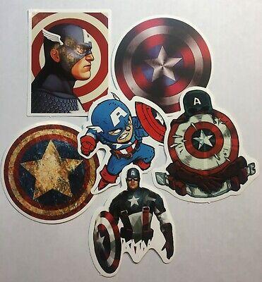 Captain America Stickers Marvel Movie Comics Avengers Sticker Series](Marvel Stickers)