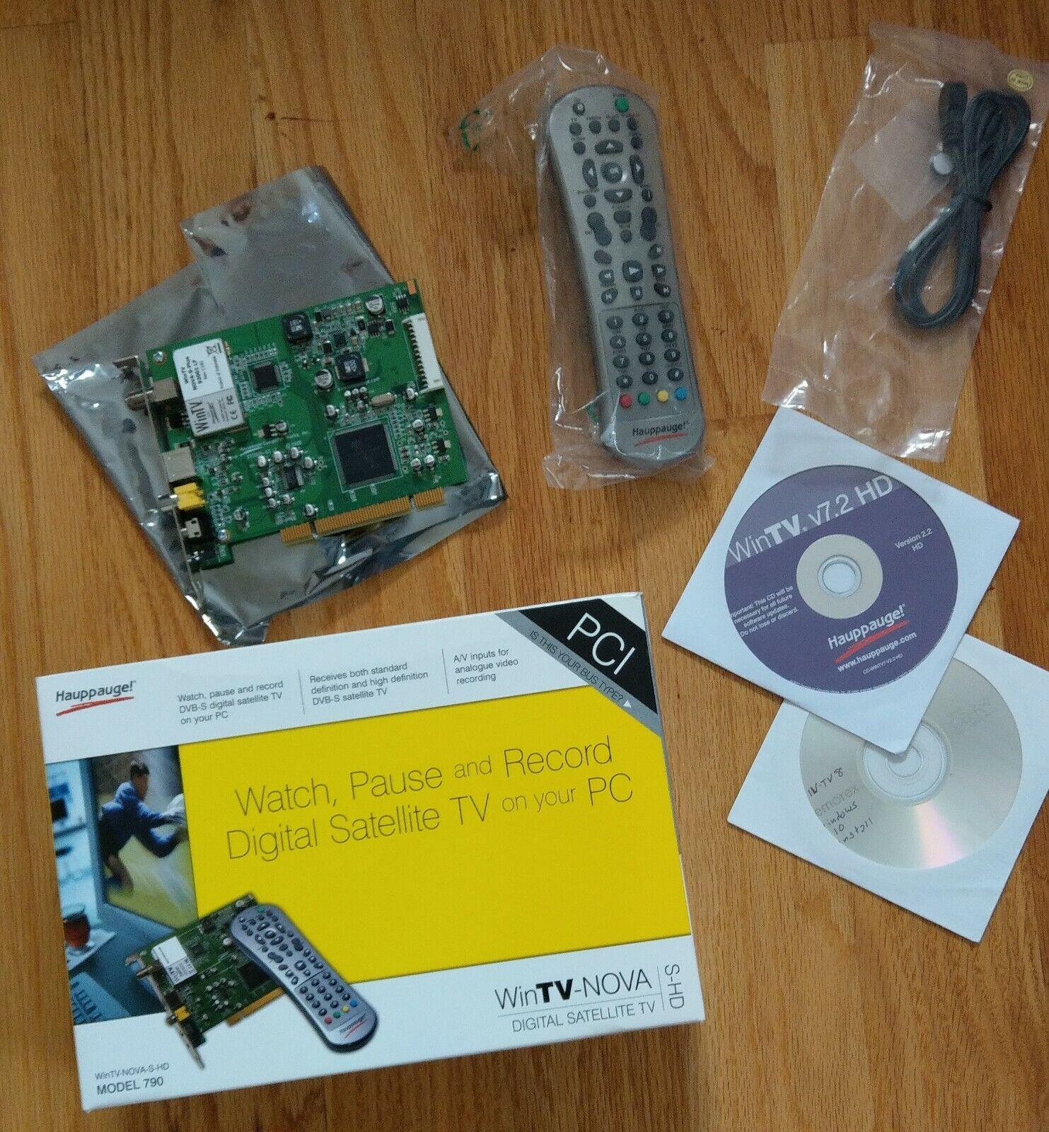 Hauppauge hard-to-find WinTV satellite capture PCI card
