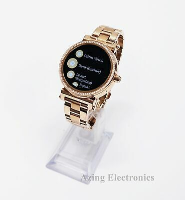 Michael Kors Access Sofie MKT5022 Women's Smartwatch Rose Gold