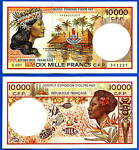 coins and banknotes for your choice