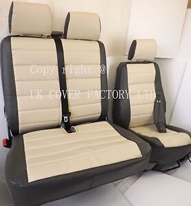 Mercedes Sprinter Van Seat Covers Rich Cream Quilted