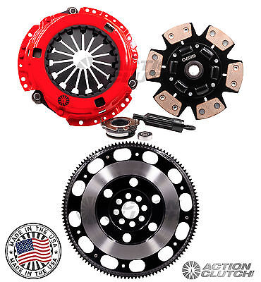 ACTION STAGE 3+RACE PRO LITE FLYWHEEL FOR ACURA RSX TYPE-S CIVIC SI K20 6SPD