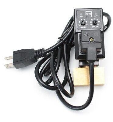 1pc 14npt Electronic Drain For Compressor Mettleair Ed16-n02-ac110-nil