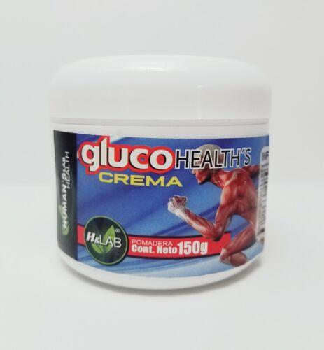 Gluco Crema - Dolor de Articulaciones, Artritis, Reumatismo, Osteoporosis