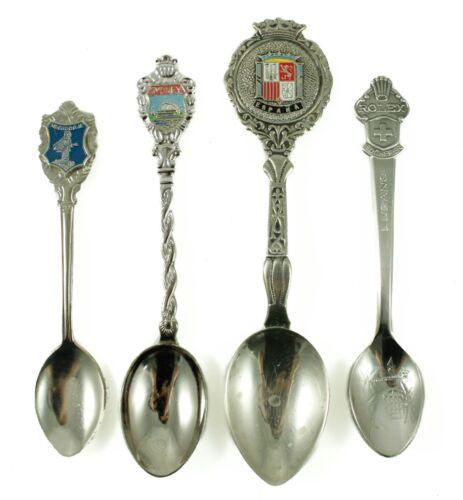 Vintage Espana Sydney Medugorje Rolex Silver Souvenir Travel Spoon Lot