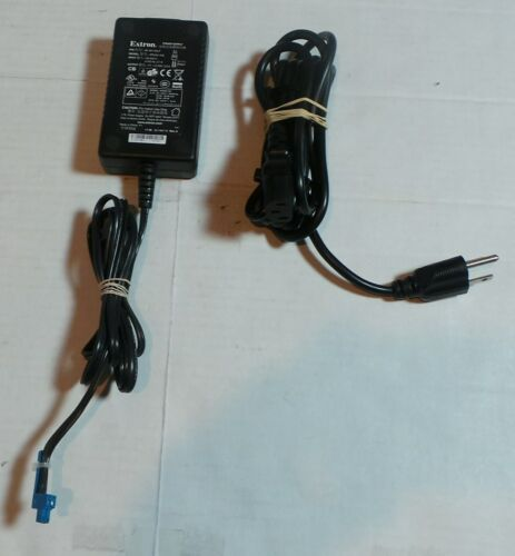 EXTRON POWER SUPPLY # 28-181-04LF 12v DC 2 Amp ADAPTER MODEL SPU24-105 & CORD