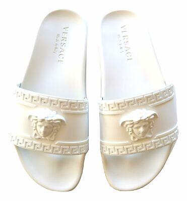 VERSACE unisex sandal slippers DSU5883DG09GD01 white