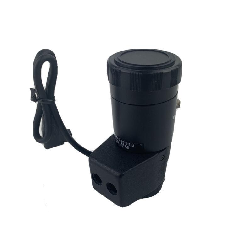 VARIFOCAL CCTV LENS L0660ZD 6-60mm DC Auto Iris Image Format: 1/3in New