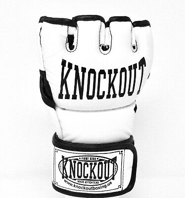 Knockout MMA Grappling Kickboxing Gym Heavy Bag Fitness Training Punching Gloves