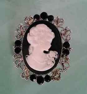 Non authentic CAMEO Brooch Blue Haven Wyong Area Preview